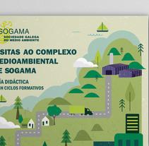 Guía de visita SOGAMA. Bachillerato, Ciclos Formativos. Un proyecto de Ilustración, Animación, Diseño editorial y Diseño gráfico de Laura Cortés         - 01.12.2015