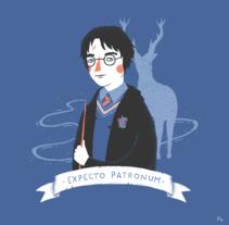 Expecto Patronum. A Illustration project by Paula García - 09-12-2014