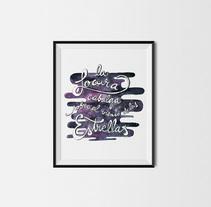 -La locura-. Un proyecto de Ilustración, Tipografía y Caligrafía de Adriana Fernandes Sánchez         - 09.12.2014