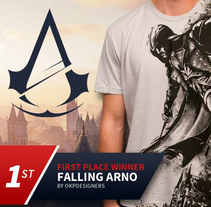FIRST PLACE WINER ASSASSIN'S CREED UNITY OFFICIAL DESIGN CONTEST.. A Illustration, Character Design, Fashion, and Game Design project by Oscar Tello Martín         - 09.11.2014