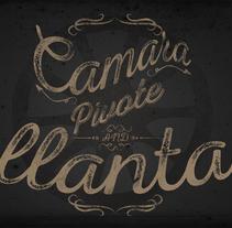 CAMARA, PIVOTE Y LLANTA. A Illustration, Graphic Design, and Screen-printing project by Alan Giovanni Castillo Núñez  - 15-12-2014