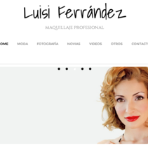 Luisi Ferrández Maquillaje. A Web Design, and Web Development project by Manuel Angel Garcia Gomez         - 16.12.2014