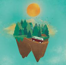 Propuesta portada Yorokobu 2015. Un proyecto de Diseño e Ilustración de Sandra Martínez - 16-12-2014