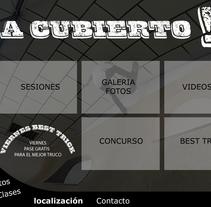 Landing Hurricane. Un proyecto de Ilustración, UI / UX y Diseño Web de Roberto Díaz Gálvez         - 17.12.2014