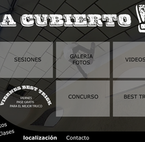 Landing Hurricane. A Illustration, UI / UX, and Web Design project by Roberto Díaz Gálvez         - 17.12.2014