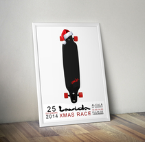 LAVIDA XMAS RACE . Poster. A Advertising, and Graphic Design project by Daniel Mellado Gama         - 18.12.2014