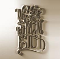 """Cartel para """"Typism Book Two"""". Un proyecto de Diseño, 3D, Diseño editorial, Diseño gráfico, Tipografía, Escritura y Caligrafía de David Rico - 19-12-2014"""