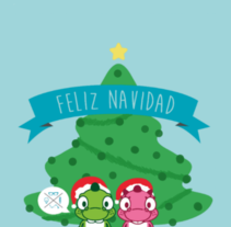 Feliz Navidad. A Illustration, Character Design, and Graphic Design project by Sergio Puente Aragoneses         - 20.12.2014
