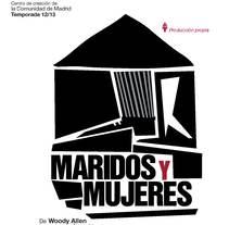Obra de teatro Maridos y Mujeres. Um projeto de Ilustração e Design gráfico de raquel arriola caamaño         - 11.10.2013