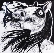 La Cegua. Um projeto de Ilustração de Mauricio Ortega Bustamante         - 24.12.2014