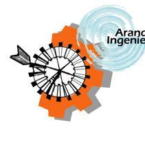 Logotipo Aranda Ingenieros. Un proyecto de Diseño gráfico de Luciana Garcilazo - 02-06-2014