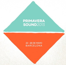 PRIMAVERA SOUND: LINE UP 2013. A 3D, Animation, Graphic Design, Illustration, and Motion Graphics project by Error! Design (Xavi Forné) - Jan 09 2015 12:00 AM