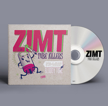 ZIMT - TUBE KILLERS. Um projeto de Design, Música e Áudio e Design gráfico de Natalia Escaño         - 11.01.2015