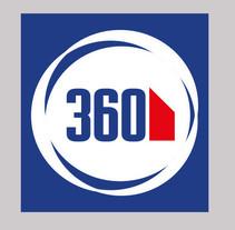 Ingles 360, diseño de logotipo. Un proyecto de Br, ing e Identidad y Diseño gráfico de Leticia Area Garcia-valdés - 15-04-2014