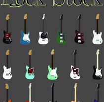 Guitarras. Um projeto de Design gráfico de Alejandro Camacho - 23-08-2014
