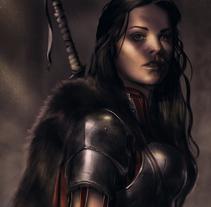 Lady Soldier. Un proyecto de Ilustración y Diseño de personajes de Jose Barrero - 17-03-2014