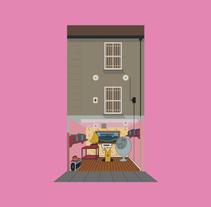 Flat flats. A Illustration project by Pablo Alvarez Vinagre - 01.22.2015