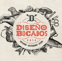 Diseño a Bocados. A Br, ing, Identit, Art Direction, T, and pograph project by Javier Bueno - 01.26.2015