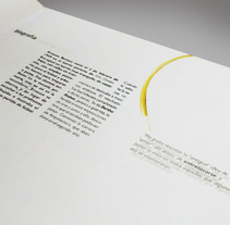 Diseño Editorial - Libro. A Editorial Design project by María Belén Grieco         - 02.02.2015