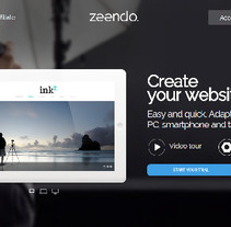 Home Zeendo. A Web Development project by Alejandro  - Feb 07 2015 12:00 AM
