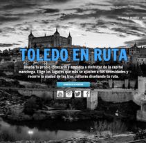 Toledo en ruta. A Web Development project by Cristina Merino         - 11.02.2015