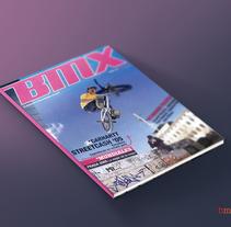BMX. Um projeto de Design editorial de Domingo Melero Pérez         - 14.02.2015