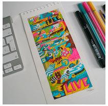Ilustracion Live. Um projeto de Ilustração, Artes plásticas e Design gráfico de Juanjo-se Peñalver         - 15.02.2015