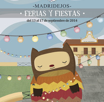 Fiestas Patronales de Madridejos 2013/2014. A Illustration project by Melisa Loza Martínez         - 19.06.2013