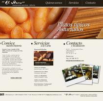 Desarrollo template Wordpress. Um projeto de Desenvolvimento Web de Álvaro Suárez - 31-05-2011