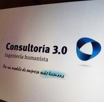 Identidad Consultoria 3.0. Un proyecto de Br, ing e Identidad y Diseño editorial de Chary Esteve Vargas - 07-08-2014