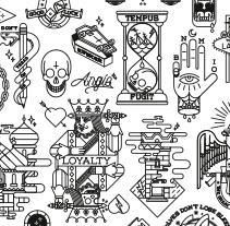 Tattoo Flash. Un proyecto de Diseño, Diseño gráfico e Ilustración de Bnomio ™ - Jueves, 01 de enero de 2015 00:00:00 +0100