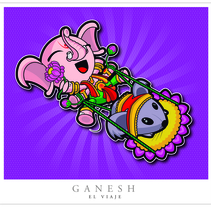 Ganesh. A Character Design project by Gustavo Garro         - 20.02.2015