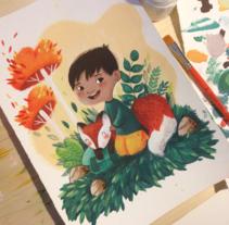 Custom Illustration. Un proyecto de Ilustración de Lydia Sánchez Marco - 24-02-2015