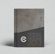 Cementos Molins - Annual Report 2013. A Art Direction, Editorial Design, and Graphic Design project by Twotypes  - 25-02-2015