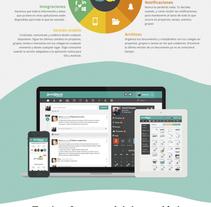Diseño Rollup. A Graphic Design project by Fotografía y diseño gráfico         - 09.01.2014