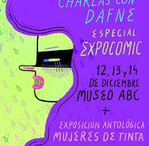 Charlas con Dafne. A Illustration project by Ana Galvañ - Feb 27 2015 12:00 AM