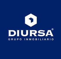 DIURSA Grupo Inmobiliario. Um projeto de Br e ing e Identidade de Alex G. Santana         - 01.03.2015