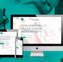 Magic Buslab | Landing Page. A Web Design, and Web Development project by Rocio Sotomayor Garcia         - 02.03.2015