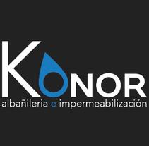 "Branding ""Konor"". Um projeto de Design, Br, ing e Identidade e Design gráfico de Mikel del Arco Zumarraga         - 17.10.2014"