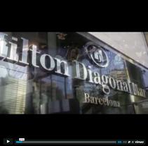 Hotel Hilton Diagonal Mar - Cambios Radicales. Un proyecto de Diseño, Fotografía, Cine, vídeo, televisión, Dirección de arte, Gestión del diseño y Vídeo de José Ramón Viza         - 09.03.2015