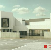 Ilustre Colegio de Abogados & unifamiliar. A 3D, Architecture&Interior Architecture project by vincent 83 - 10-03-2015
