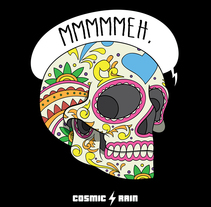 Cosmic Rain t-shirt designs. A Illustration project by Ian Norris         - 14.03.2015
