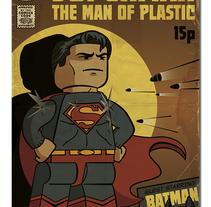 Lego Superman. Un proyecto de Ilustración de Ian Norris         - 14.03.2015
