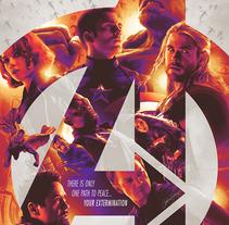 Avengers: Age of Ultron. Un proyecto de Ilustración, Diseño gráfico y Cine de Laura Racero         - 16.03.2015