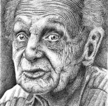 Old man. A Illustration project by Carla Panadero Jiménez         - 20.03.2015