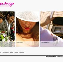 Web Html5 & CSS3. Um projeto de Web design de Diana Drago         - 21.03.2015