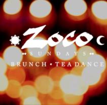Zoco Brunch & Tea Dance. Un proyecto de Vídeo de Massimo Perego         - 23.03.2015