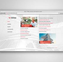 PERITACIONES MINA. Um projeto de Web design e Desenvolvimento Web de Fiebre Creativa         - 24.03.2015