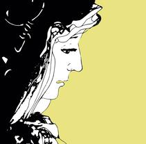 Virgen de los Dolores. Un proyecto de Ilustración de María Bravo Guisado         - 28.03.2015