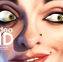 Miss Mussed. Un proyecto de 3D, Animación y Escultura de Víctor Lobo         - 05.03.2015